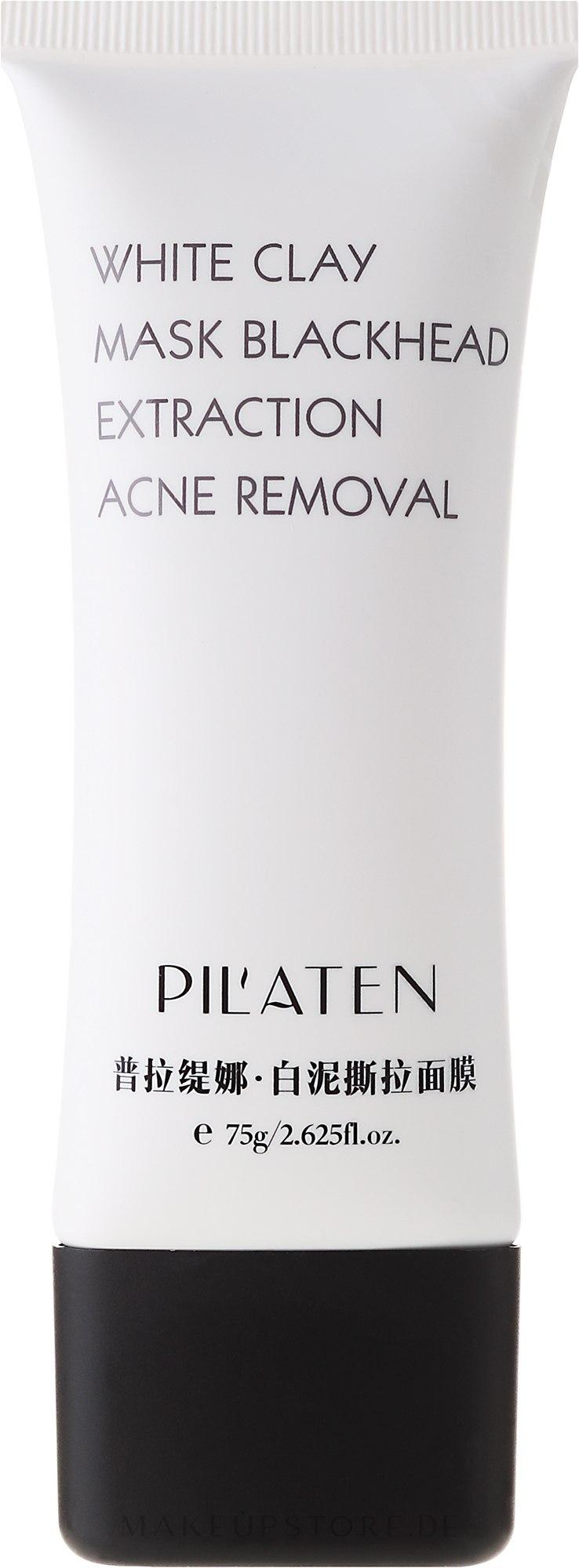 Gesichtsmaske gegen Akne und Mitesser mit weißem Ton - Pil'Aten White Clay Mask Blackhead Extraction Acne Removal — Bild 75 g