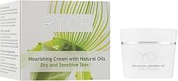 Düfte, Parfümerie und Kosmetik Nährende Gesichtscreme für trockene und empfindliche Haut mit natürlichen Ölen - Ryor Face Care