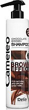 Düfte, Parfümerie und Kosmetik Shampoo für braun gefärbtes oder braunes Haar - Delia Cameleo Brown Effect Shampoo