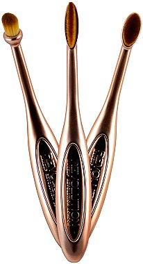 Make-up Pinselset 3-tlg. - Makeup Revolution Precision Eye Set — Bild N1