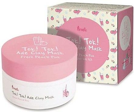 Erfrischende Tonmaske für Gesicht mit Pfirsichextrakt - Prreti Tok!Tok! Ade Clay Mask Fresh Peach Pink — Bild N1