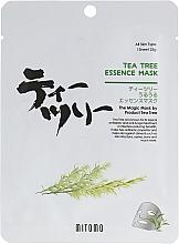 Düfte, Parfümerie und Kosmetik Tuchmaske für das Gesicht mit Teebaumöl - Mitomo Tea Tree Essence Mask