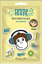 """Düfte, Parfümerie und Kosmetik Belebende Gesichtsmaske mit Banane und Kiwi """"Affe"""" - Marion Funny Mask"""