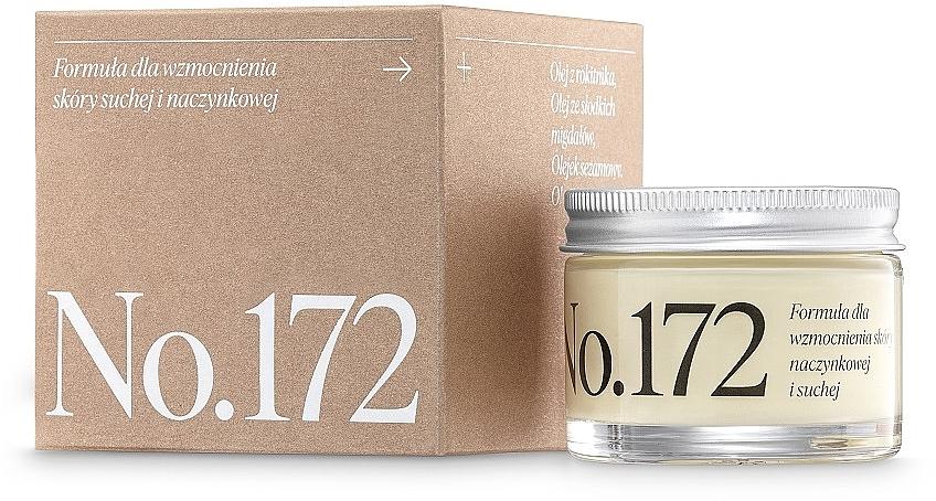 Stärkende Gesichtscreme für trockene und Kapillarhaut - Make Me Bio Receptura 172