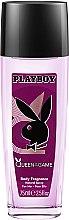 Düfte, Parfümerie und Kosmetik Playboy Queen Of The Game - Parfümiertes Körperspray