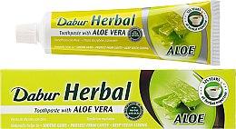 Düfte, Parfümerie und Kosmetik Ayurvedische Zahnpasta mit Aloe vera - Dabur Herbal Aloe Vera Toothpaste