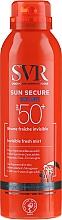 Düfte, Parfümerie und Kosmetik Sonnenschutzspray für überempfindliche Körperhaut SPF 50+ - SVR Sun Secure Brume Invisible Fresh Mist SPF 50