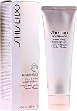 Düfte, Parfümerie und Kosmetik Gesichtsreinigungsschaum - Shiseido Benefiance Extra Creamy Cleansing Foam