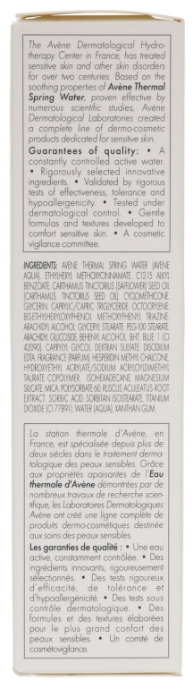 Schützende Gesichtscreme gegen Rötungen SPF 20 - Avene Soins Anti-Rougeurs Redness Cream — Bild N3