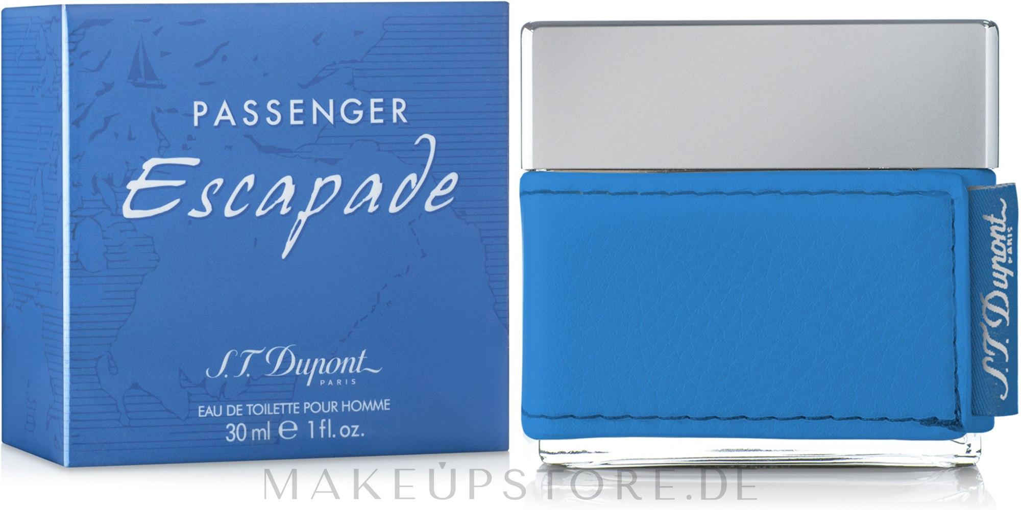 Dupont Passenger Escapade Men - Eau de Toilette — Bild 30 ml