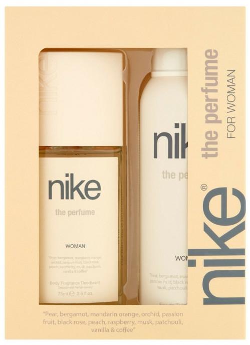 Nike The Perfume Woman - Duftset (Parfümiertes Körperspray 75ml + Deospray 200ml) — Bild N1