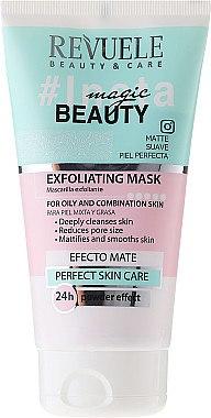 Pflegende und reinigende Peeling-Maske für fettige und Mischhaut - Revuele Insta Beauty Exfoliating Mask — Bild N1