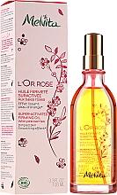 Düfte, Parfümerie und Kosmetik Hochkonzentriertes straffendes Körperöl mit rosa Beeren - Melvita L'Or Rose Huile Fermete