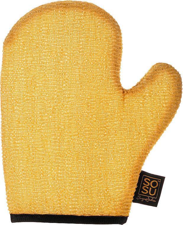 Peeling-Handschuh - Sosu by SJ Dripping Gold Luxury Tanning Mitt Exfoliating — Bild N1