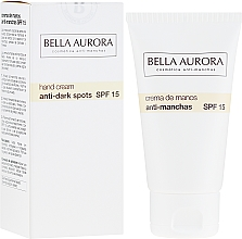 Düfte, Parfümerie und Kosmetik Handcreme gegen Pigmentflecken SPF 15 - Bella Aurora M7 Anti Dark Spots Hand Cream SPF15