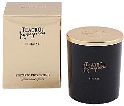 Düfte, Parfümerie und Kosmetik Duftkerze Florentine Spices - Teatro Fragranze Uniche Speziato Fiorentino Scented Candle