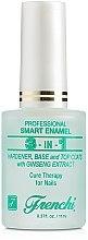 Düfte, Parfümerie und Kosmetik 3in1 Stärkender Unter- & Überlack - Frenchi Smart Enamel 3in1
