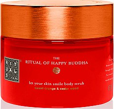 Düfte, Parfümerie und Kosmetik Körperpeeling mit süßer Orange und Zedernholz - Rituals The Ritual of Happy Buddha Body Scrub