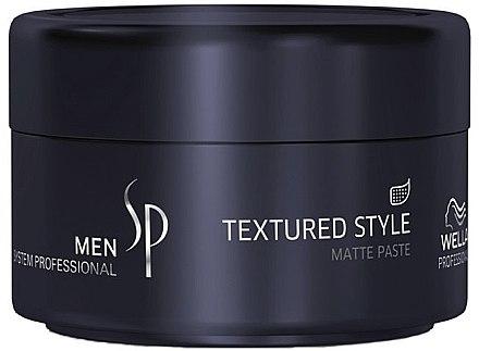 Mattierende Haarpaste - Wella SP Men Textured Style Paste — Bild N1