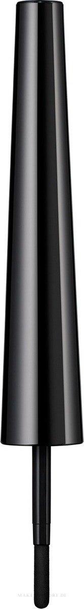 Augenbrauenpuder mit Applikator - Rimmel Brow This Way 3-in-1 Soft Powder — Bild Soft Black