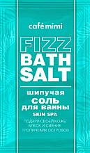 Düfte, Parfümerie und Kosmetik Entspannendes Badesalz für strahlende und glänzende Haut mit tropischem Duft - Cafe Mimi Fizz Bath Salt