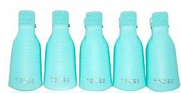 Düfte, Parfümerie und Kosmetik Finger-Clips zum Entfernen von Gellack blau 5 St. - Neess