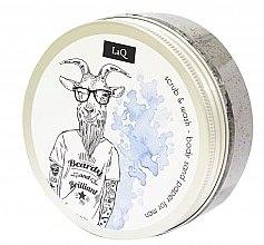 Düfte, Parfümerie und Kosmetik Reinigendes Körperpeeling für Männer - LaQ Body Scrub&Wash Body Sand Paper For Men