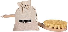 Düfte, Parfümerie und Kosmetik Massagebürste für den Körper mit Borsten aus Tampico-Fibre - Hhuumm № 6