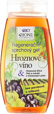 Duschgel - Bione Cosmetics Grape Wine Shower Gel — Bild N1