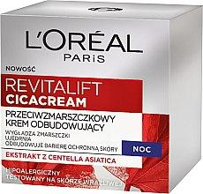 Düfte, Parfümerie und Kosmetik Anti-Falten-Nachtcreme - L'oreal Revitalift Cicacream Anti-Aging