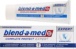 Zahnpasta Complete Protect Expert Strong Teeth - Blend-a-med Complete Protect Expert Strong Teeth Toothpaste — Bild N1