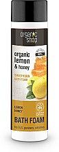 Düfte, Parfümerie und Kosmetik Badeschaum mit Bio Zitrone und Honig - Organic Shop Organic Lemon and Manuka Golden Bath Foam