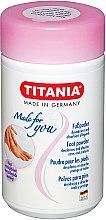 Düfte, Parfümerie und Kosmetik Fußpuder - Titania Foot Powder
