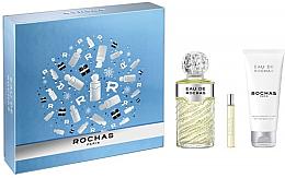Düfte, Parfümerie und Kosmetik Rochas Eau De Rochas - Duftset (Eau de Toilette 100ml + Eau de Toilette 7.5ml + Körperlotion 100ml)