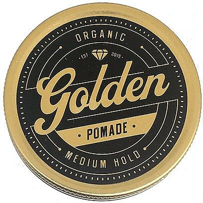 Pomade zum Haarstyling Mittlerer Halt - Golden Beards Golden Pomade — Bild N1
