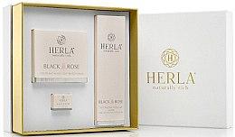 Düfte, Parfümerie und Kosmetik Gesichtspflegeset - Herla Black Rose I (Creme 50ml + Creme 5ml + Tonikum 200ml)