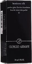 Düfte, Parfümerie und Kosmetik Illuminierende Foundation - Giorgio Armani Luminous Silk Foundation