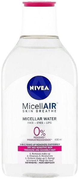 Mizellen Reinigungswasser für trockene und sensible Haut - Nivea MicellAIR Micellar Cleansing Water — Bild N1