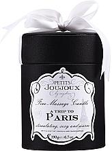 Düfte, Parfümerie und Kosmetik Massagekerze A Trip To Paris - Petits Joujoux A Trip To Paris Massage Candle