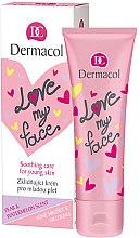 Düfte, Parfümerie und Kosmetik Gesichtscreme mit Birne und Wassermelone - Dermacol Love My Face Pear & Watermelon Scent Face Cream