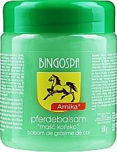 Düfte, Parfümerie und Kosmetik Pferdebalsam mit Arnika-Extrakt - BingoSpa Horse Ointment With Arnica