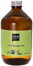 Düfte, Parfümerie und Kosmetik Natürliches Duschgel für trockene und empfindliche Haut mit Limettenduft - Fair Squared Lime Shower Gel