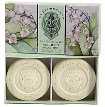 Düfte, Parfümerie und Kosmetik Seife Set Maiglöckchen - La Florentina Lily Of The Valley Bath Soap Set