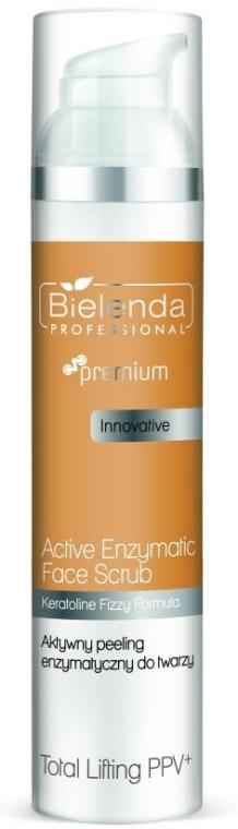Straffendes Enzympeeling für Gesicht - Bielenda Professional Premium Total Lifting PPV+ Enzymatic Active Face Peeling — Bild N1