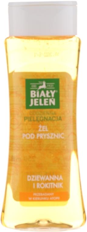 Hypoallergenes Duschgel mit Königskerze und Sanddorn - Bialy Jelen Hypoallergenic Shower Gel Mullein And Sea Buckthorn — Bild N1