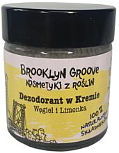 Düfte, Parfümerie und Kosmetik Natürliche Deo-Creme Limette & Orange  - Brooklyn Groove Deodorant Cream