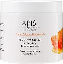 Düfte, Parfümerie und Kosmetik Zuckerpeeling für die Füße mit Honig - APIS Professional Honeycomb Exfoliating Honey Sugar For Foot Care