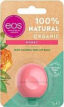Düfte, Parfümerie und Kosmetik Feuchtigkeitsspendender und pflegender Lippenbalsam mit Honig, Sheabutter und Jojobaöl - EOS 100% Natural Organic Honey Lip Balm