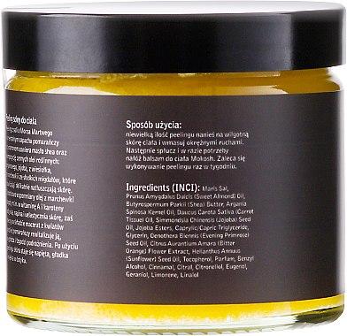 Körpersalzpeeling mit Orangen und Zimt - Mokosh Cosmetics Body Salt Scrub Orange & Cinnamon — Bild N2
