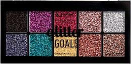 Düfte, Parfümerie und Kosmetik Lidschattenpalette mit Glitzer - NYX Professional Glitter Goals